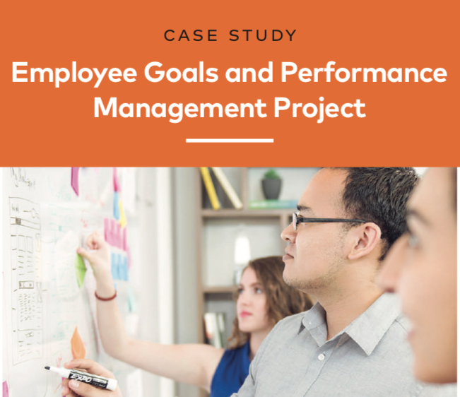 Employee Goals and Performance Management